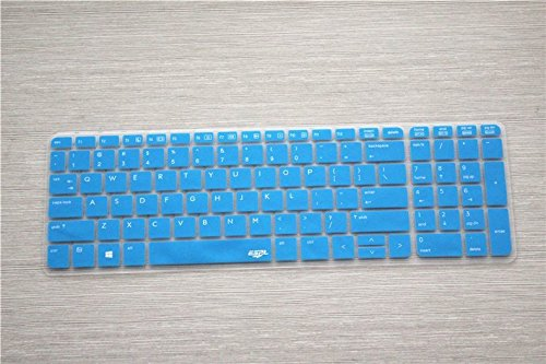 Leze Ultra Thin Transparent Keyboard Protector Cover Skin for HP ProBook 450 G1/G2, ProBook 650 G2 Laptop - Semi Blue (Hp Probook 450 Laptop Cover compare prices)