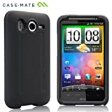 Case-Mate SoftBank 001HT / HTC Desire HD Hybrid Tough Case with Screen Protector, Black / Black「ソフトバンク 001HT / HTC デザイアHD」 専用ハイブリッド タフ ケース (液晶保護シート つき) ブラック・ブラック CM012719