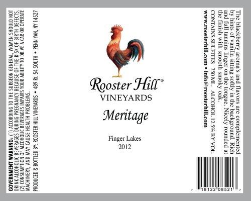 2013 Rooster Hill Vineyards Meritage 750 Ml