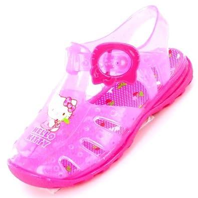 Hello Kitty Summer Pink Jelly Sandal Size 9 Child UK