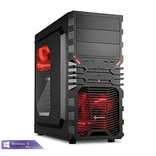 Ankermann-PC FX-ULTRA, AMD FX-8370, 8x 4.00GHz Turbo: 4.20GHz, Sapphire Radeon R9 390 Nitro 8GB, 8 GB DDR3 RAM, 240GB SSD, Microsoft Windows 10 64Bit, Card Reader, EAN 4260370251440