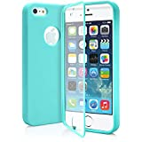 iPhone 5S Case, MagicMobile® Ultra Slim Hybrid Protective Wrap-Up Dust Resistant TPU Cover for iPhone 5 Soft Cute Stylish Fashion iPhone 5 Case with Built-In Touch Clear Screen Protector [ Color: Turquoise ]