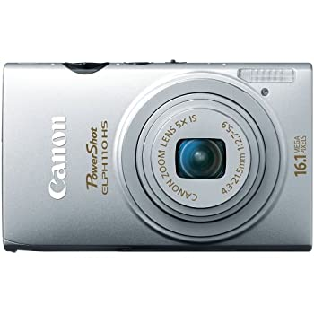 Set A Shopping Price Drop Alert For Canon PowerShot ELPH 110 HS 16.1 MP CMOS Digital Camera with 5x Optical Image Stabilized Zoom 24mm Wide-Angle Lens and 1080p Full HD Video Recording (Silver)