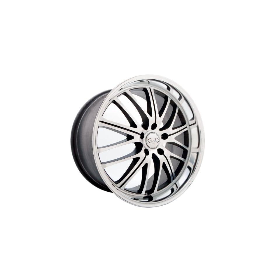 18x8 Privat Motiv (Graphite w/ Machined Face) Wheels/Rims 5x120 (M18852035S)