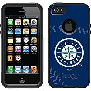 Coveroo Commuter Series Case for iPhone 5s/5 - Retail Packaging - Seattle Mariners - Stitch Design