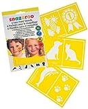 Snazaroo Face Paint Stencils - Unisex, Set of 6