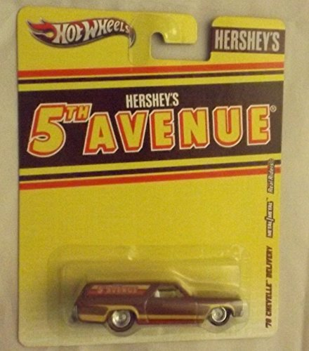 1:64 Hot Wheels Hershey's Nostalgia 2012 5th Avenue '70 Chevelle Delivery - 1