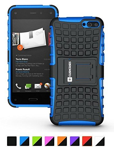 Cush Cases Extinguisher Series Heavy Duty Cover Case for Amazon Fire Smartphone (Blue)