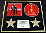 DAVID GUETTA/CD DISPLAY/LIMITED EDITION/COA/NOTHING BUT THE BEAT