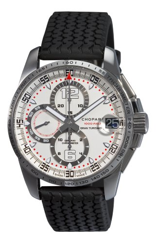 Chopard Men's 168459-3015 Mille Miglia GT XL Chronograph White Dial Watch