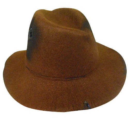A Nightmare on Elm Street Freddy Krueger Deluxe Fedora Hat, Teen Size