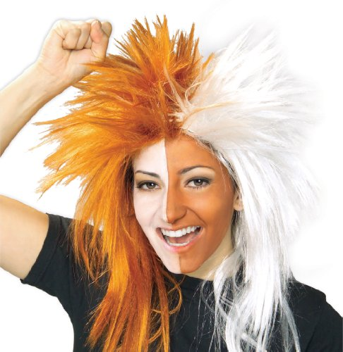 Rubie's Costume Bright and White Sports Fan Wig