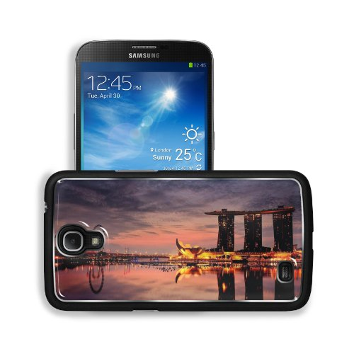 Marina Bay Sands Hotel Singapore Samsung Galaxy Mega 6.3 I9200 Snap Cover Premium Aluminium Design Back Plate Case Customized Made To Order Support Ready 6 5/8 Inch (168Mm) X 3 9/16 Inch (91Mm) X 4/8 Inch (12Mm) Liil Galaxy Mega 6.3 Professional Metal Cas