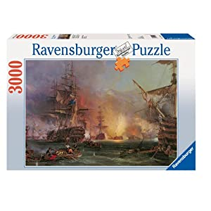 buy ravensburger bombardment of algiers jigsaw puzzle 3000 pieces online at low prices in. Black Bedroom Furniture Sets. Home Design Ideas