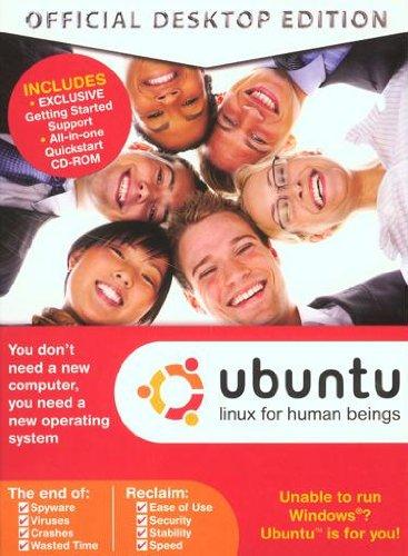 Ubuntu Official Desktop Edition 8.04 - Linux For Human Beings