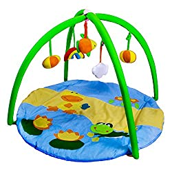 NOVICZ Big Size Baby Play Mat kids soft Baby Gym Bay Crawling Rugs baby Cartoon Activity Carpet Infant Bed