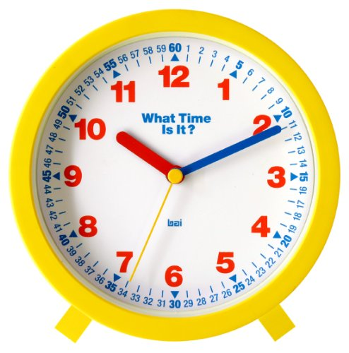 Bai What-Time-Is-It Learning Clock