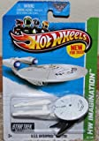 2013 Hot Wheels Hw Imagination – Star Trek – USS Enterprise NCC-1701