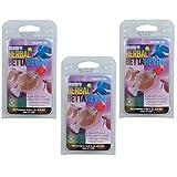 (3 Pack) Hikari Aquarium Solutions Herbal Betta Revive .08 Ounce Each