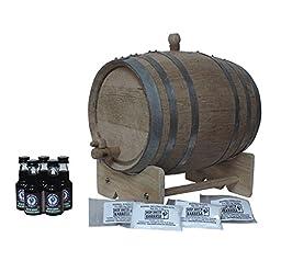 5-Liter American White Oak Barrel Unfinished Full Highland Malt Whisky Kit