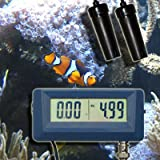 2-IN-1 Multimeter Messgerät Tester Prüfer (PH & EC) Leitwert/Leitfähigkeit Aquarium Teich Pool P25