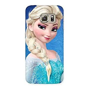 Stylish Winky Angel Back Case Cover for Samsung Galaxy S6 Edge