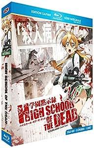 High School of the Dead - Intégrale + OAV - Edition Saphir [3 Blu-ray] + Livret
