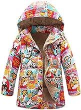 Girl39s Cartoon Animel Pattern Hooded Winter Jacket Coat Thickened Down Jacket
