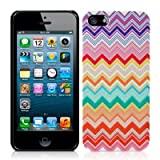 Call Candy Chevron Clash Fashion Case for iPhone 5S - Multicolouredby CallCandy