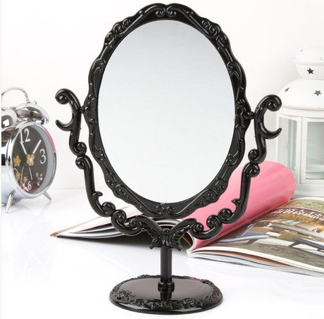 Retro Roses Desktop Mirror front-150923