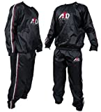 ARD Heavy Duty Sweat Suit Sauna Exercise Gym Suit Fitness Weight Loss Anti-Rip Sweating Track Suit Tracking Suit