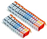 25 Pack Compatible Canon CLI 8 , CL