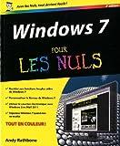 echange, troc Andy Rathbone - Windows 7 3e pour les nuls