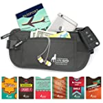 Money Belt For Travel with 1x Passpor...
