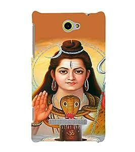 EPICCASE Shiva god Mobile Back Case Cover For HTC One Max (Designer Case)