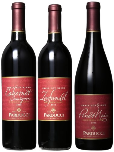 Parducci Wine Cellars Parducci Best of Mendocino Red Mixed Pack 3 x 750 mL