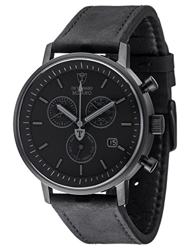 detomaso-milano-mens-quartz-watch-with-black-dial-analogue-display-and-black-leather-bracelet-dt1052