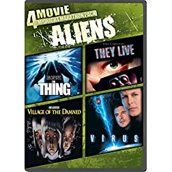 4-Movie Midnight Marathon Pack: Aliens
