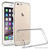 MoboZx Slim Acrylic TPU Scratch-Resist Bumper Case for iPhone 6 / 6S - Clear