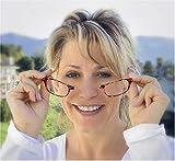 Design Lesebrille & Magnetbrille +2.50 schwarz - 6