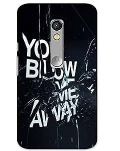 Motorola Moto X ForceBack Cover Designer Hard Case Printed Cover