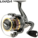4.7:1 8 Ball Bearings Fishing Reel Spinning Wheel Full Metal Body Left Right Hand Inter-changeable CNC Metal Spinning...