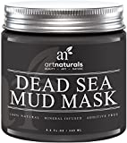 Art Naturals Dead Sea Mud Mask for Face, Body & Hair 8.8 oz, 100% Natural and Organic Deep Skin Cleanser - Clears Acne, Reduces Pores & Wrinkles -Ultimate Spa Quality -Mineral Infused, Additive Free