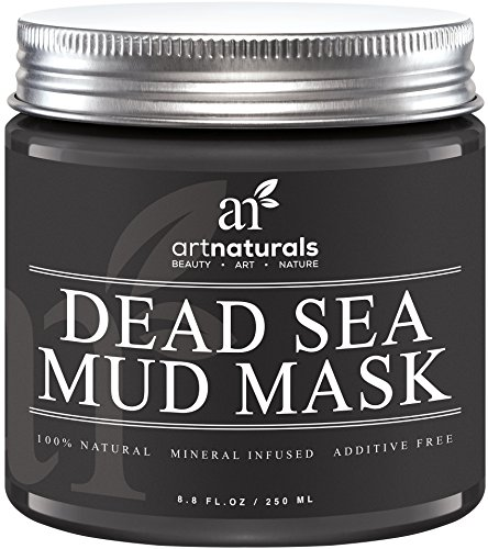 Art Naturals Dead Sea Mud Mask for Face, Body & Hair 8.8 oz, 100% Natural and Organic Deep Skin Cleanser - Clears Acne, Reduces Pores & Wrinkles -Ultimate Spa Quality -Mineral Infused, Additive Free (Hair Condition Bar compare prices)