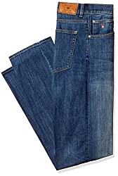 Gant Men's Slim Fit Jeans (8907163996138_GMJHB0020_34W x 34L_Royal Blue)