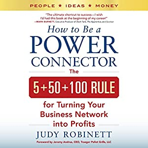 How to Be a Power Connector Audiobook