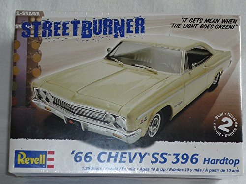 Chevrolet Chevy Ss 396 1966 Hardtop Coupe 85-4250 Bausatz Kit 1/24 1/24 Revell Usa Modellauto Modell Auto