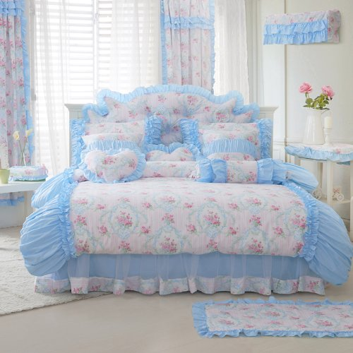 Shabby Chic Pink Bedding