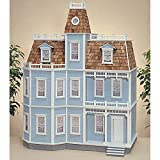 Real Good Toys Real Good Toys Newport Dollhouse Kit - 1 Inch Scale, Milled MDF, Medium Density Fiberboard