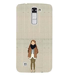 EPICCASE Winter Collection Mobile Back Case Cover For LG K10 (Designer Case)